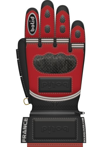 Bolid Leopard Carbon Skin guanti da moto pelle racing corsa personalizzati