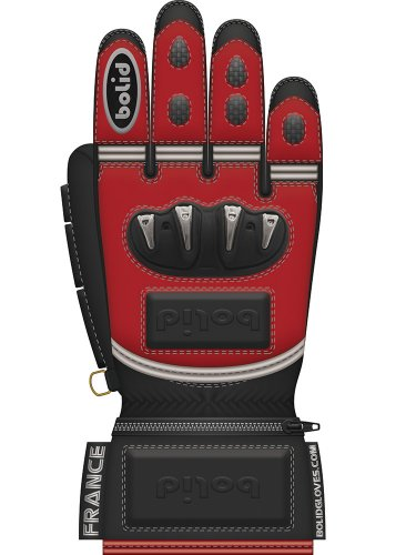 Bolid Leopard Tpu Skin gants de moto cuir racing course personnalisés