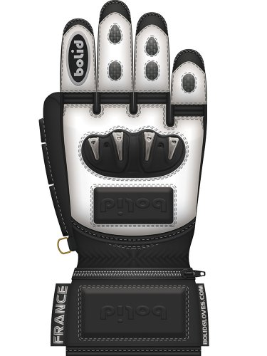 Bolid Leopard Tpu Skin guanti da sci in pelle racing corsa personalizzati