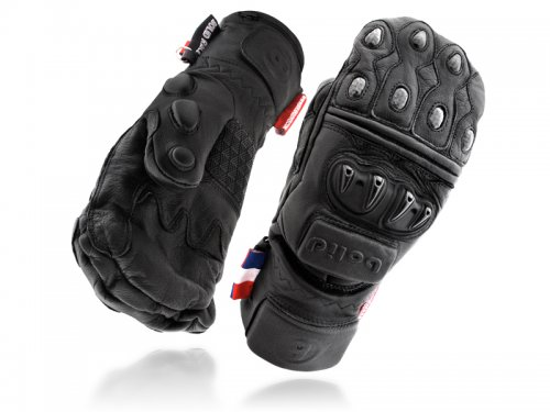 Ski mittens LION N RACE 100% Leather